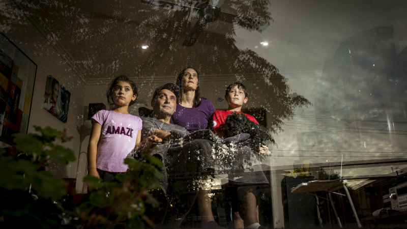 'Catch-22': Family caught between coronavirus risk and education for the kids – The Age