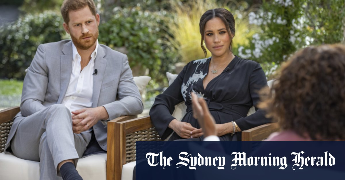 Explosive Harry and Meghan interview reveals Royals worried about Archie's skin tone – Sydney Morning Herald