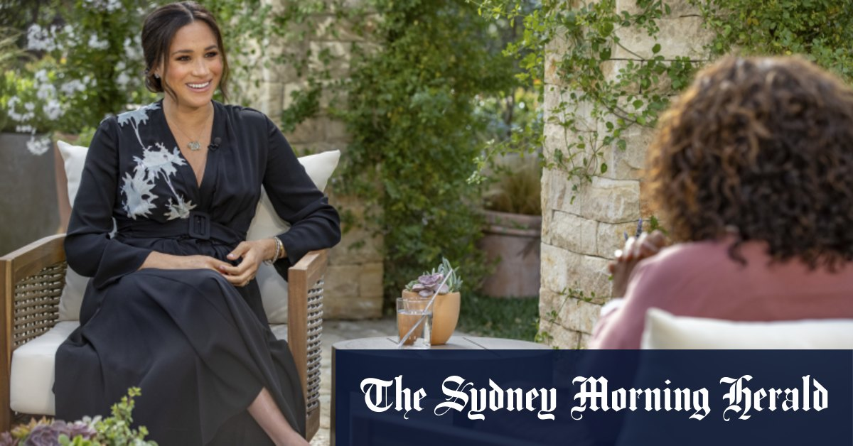 Huge ratings for Meghan and Harry's tell-all interview with Oprah – Sydney Morning Herald