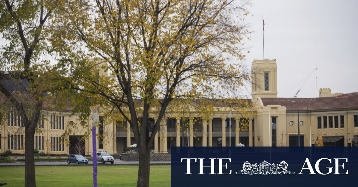 'Just beggars belief': Merlino weighs in on alleged misogynistic behaviour of Wesley schoolboys – The Age