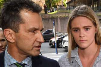 Lawyer Paul Horvath and swimmer Shayna Jack have a tough ask to argue for a reduced penalty.