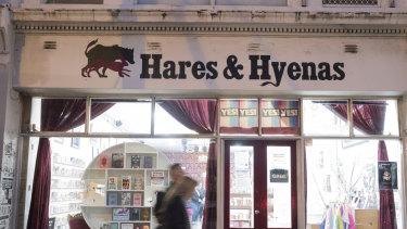 Fitzroy bookshop, Hares & Hyenas