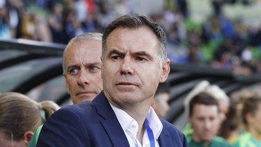Matildas boss Ante Milicic.
