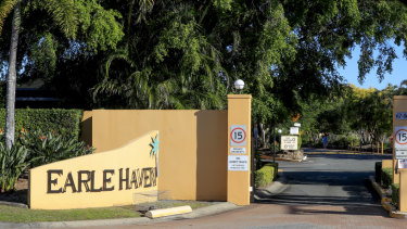 Earle Haven Retirement Village in Nerang following its shock closure.