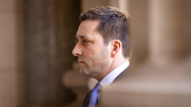 Opposition Leader Matthew Guy