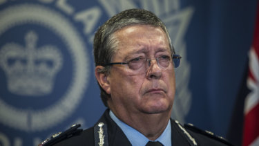 Queensland Police Service commissioner Ian Stewart.