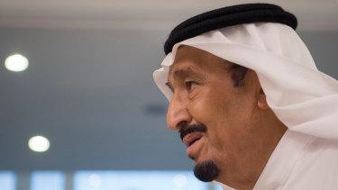 Saudi King Salman.