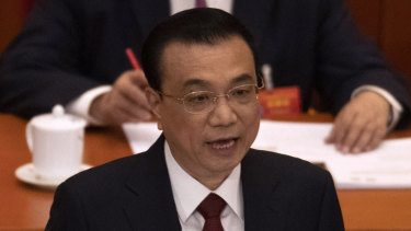 China's Premier, Li Keqiang, has downgraded China's growth expectations to the lowest level in nearly 30 years.