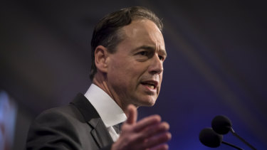Health Minister Greg Hunt said the transparency website was a big step forward in addressing out-of-pocket costs.