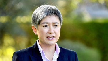 "Labor senator Penny Wong backed Anthony Albanese as ""the outstanding parliamentarian of our generation""."