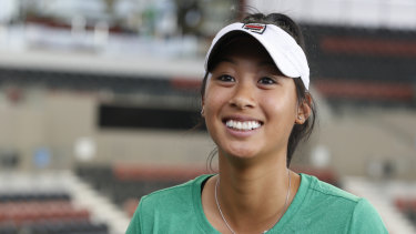 Priscilla Hon led the Australian charge in US Open qualifying.