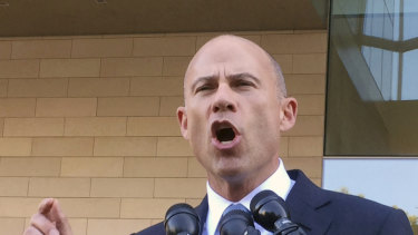 Michael Avenatti, the former attorney for adult film actress Stormy Daniels.