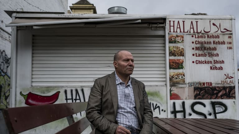 Ahmed Abou Ahmed's Town Hall Kebab van has been evicted after a legal fight with the Anglican church.