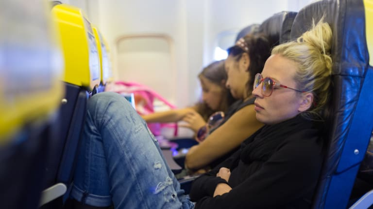 You're far more likely to be able to stretch out on some flights than others.