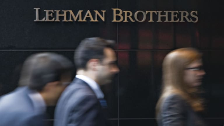 The collapse of Lehman brothers in September 2008 triggered the global financial crisis.