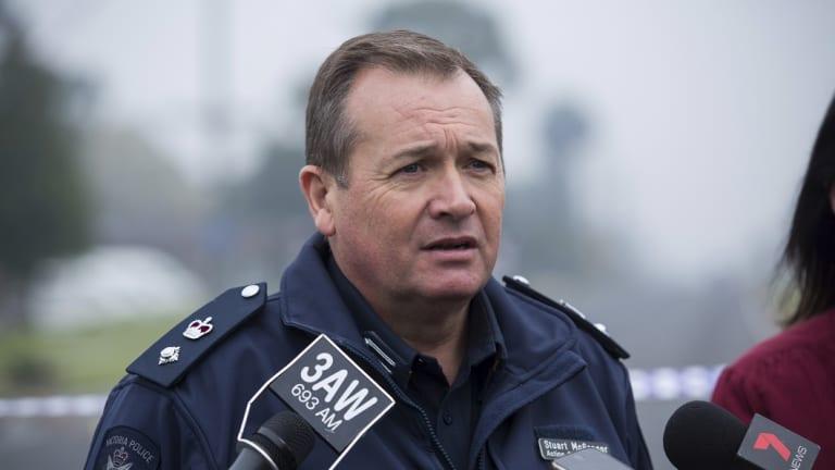 Detective Inspector Stuart McGregor.