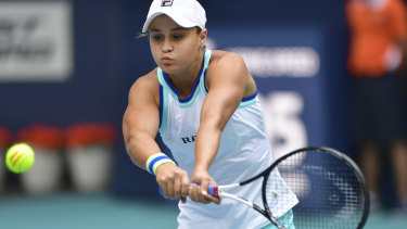 Classic in style, modest in demeanour, Barty is a popular rising star in world tennis.