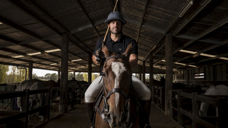 Daylesford is not Toorak': Posh polo a hot topic in bohemian