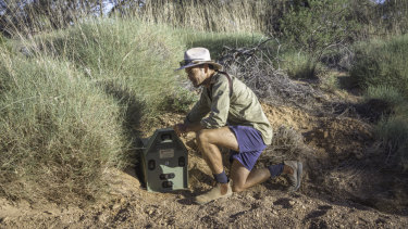John Read, co-founder of Arid Recovery wildlife sanctuary in South Australia, has helped devise an array of methods to do away with the continent's feral cats.