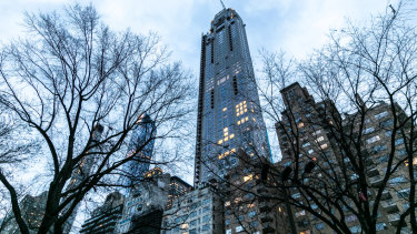 The penthouse at 220 Central Park South is now America's most expensive home..