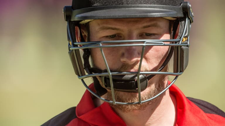 Cameron Bancroft playing in the Twenty20 in Darwin last month.