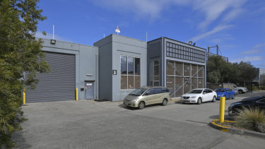 An office/warehouse at 2/126-134 Fairbank Road, Clayton.