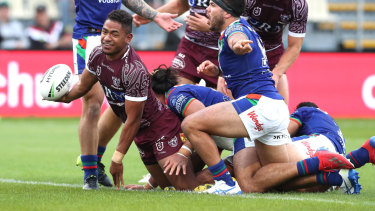 NSW coach Brad Fittler says rising Manly star Manase Fainu has 'something different'.