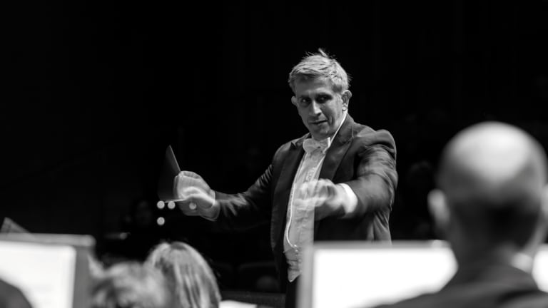 CSO chief conductor and artistic director Nicholas Milton.