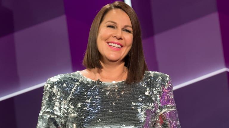 Julia Morris hosts Ten's new Blind Date.