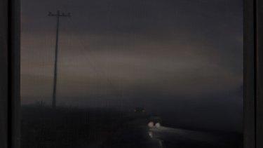 Kirrily Hammond, <i>Gloam</i>, 2018, in <i>Lowlands</i> at Beaver Galleries.