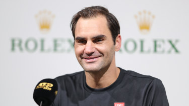Roger Federer has confirmed he wants to play at next year's Olympics as his career rolls on.
