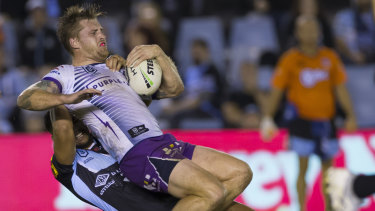 Cameron Munster is stopped in his tracks.