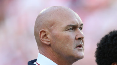 Under pressure ... Dragons coach Paul McGregor is fighting to keep his job.