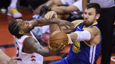 Andrew Bogut was able to spark the Warriors in game two.