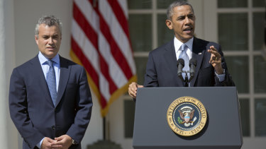 Barack Obama and Jeffrey Zients during their White House years.