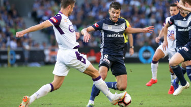 Midfielder Terry Antonis is off to South Korea after 18 months with Melbourne Victory.