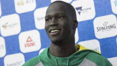 Thon Maker: Proud to represent Australia.