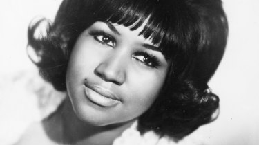 Aretha Franklin, Queen of Soul.