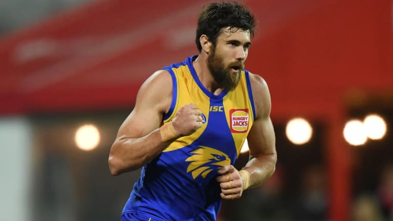 Josh Kennedy's return will trouble Collingwood.
