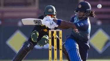 In the runs: Sri Lanka's Chamari Atapattu.