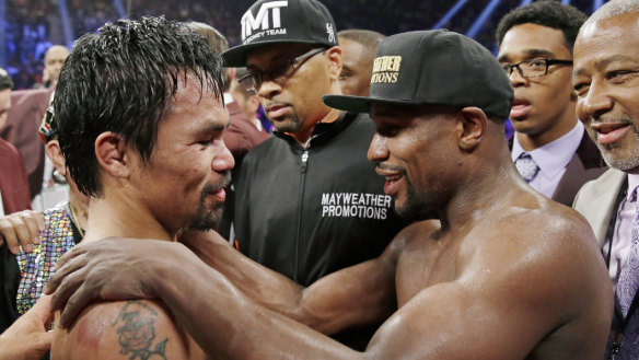 Mayweather claims Pacquiao rematch will happen this year