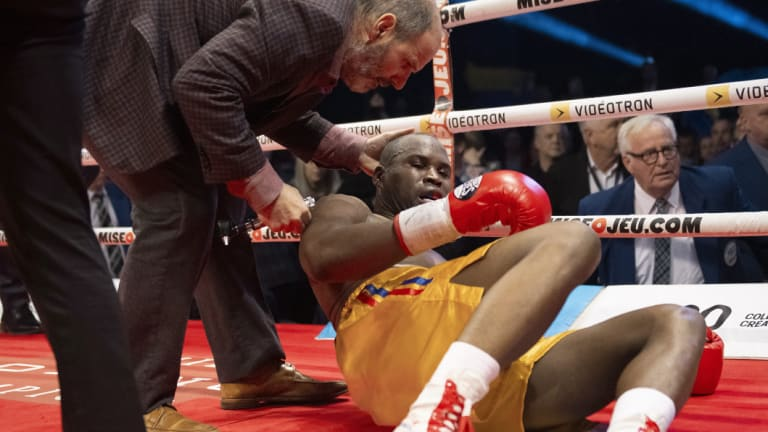 Adonis Stevenson has regained consciousness, according to his girlfriend.
