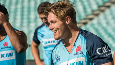 Inspirational skipper Michael Hooper is behind so much of what the Waratahs do well in Super Rugby.