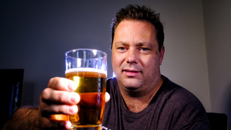 Ray Mueller will be drinking non-alcoholic beer this Christmas.