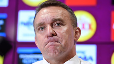 Broncos chief executive Paul White says no one is trying to 'rose colour' the Broncos' record loss.