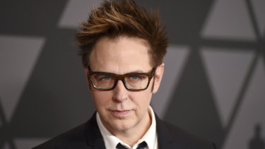 Director James Gunn's past on social media came back to haunt him.