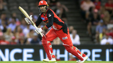 Out of finals: Renegades all-rounder Mohammad Nabi has been called up to represent Afghanistan against Ireland.