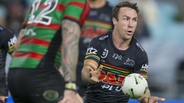 He's back: James Maloney is set for an unlikely recall for NSW.