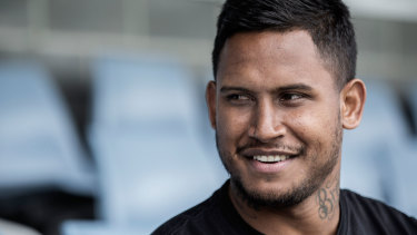 Sacked: North Queensland terminated Ben Barba's contract before the fullback played a game for the club.