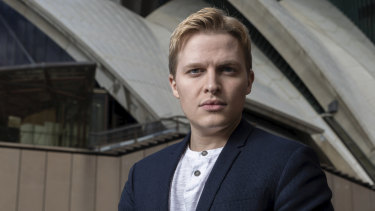 Ronan Farrow, who helped break the allegations of sexual assault against movie mogul Harvey Weinstein.